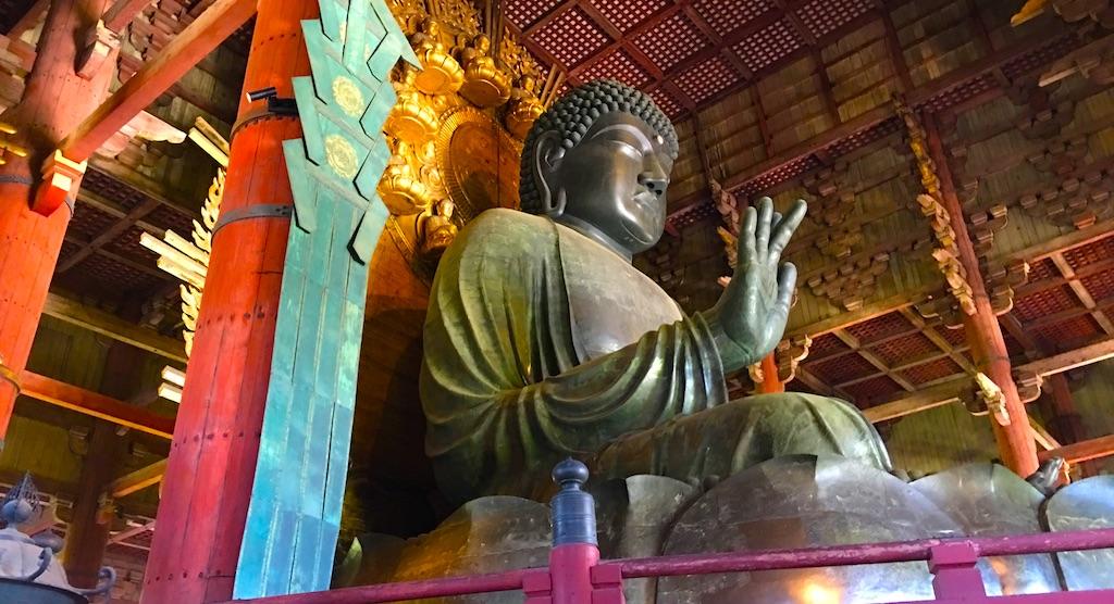 奈良東大寺の大仏で療育手帳